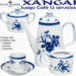Juego Café 12 servicios 27 piezas XANGAI Vista Alegre