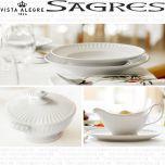 Vajilla + Café + Consomé 108 piezas (12 servicios) Vista Alegre SAGRES BLANCO