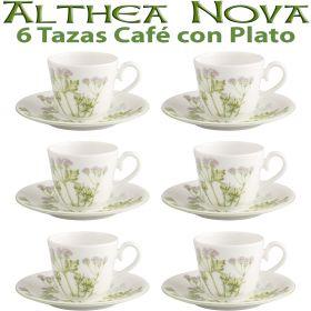 6 Tazas Café con Plato Althea Nova Villeroy & Boch