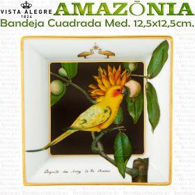 Vista Alegre AMAZONIA Bandeja Cascais Cuadrada Mediana 12,5x12,5cm.