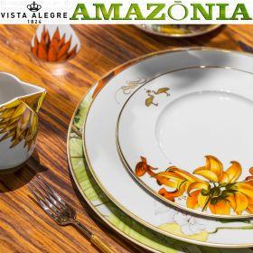Platos vajilla AMAZONIA Vista Alegre