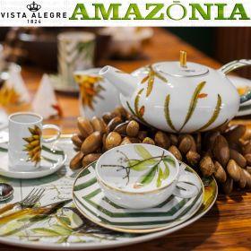AMAZONIA Juego de Té, tazas y tetera