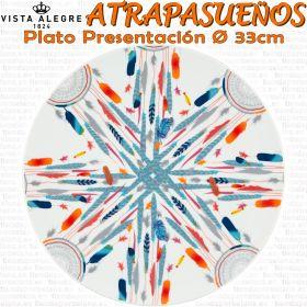 ATRAPASUEÑOS Bajo Plato Presentación 33cm vajilla piezas sueltas Vista Alegre