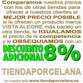 Pack 4 Vasos Altos 13,9cm./330ml. Vidrio Vista Alegre PICOS / BICOS ROSA