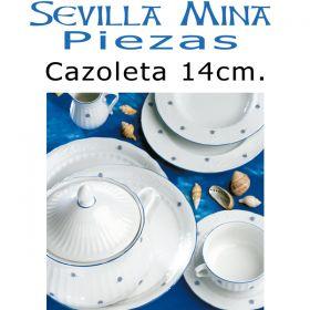 Cazoleta 14cm. Vajillas Santa Clara Sevilla Mina