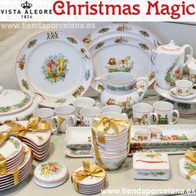 Vajilla CHRISTMAS MAGIC decoración Navideña Vista Alegre