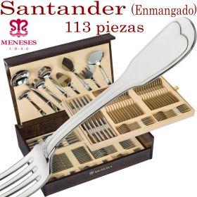 Cubertería Meneses 113 piezas SANTANDER