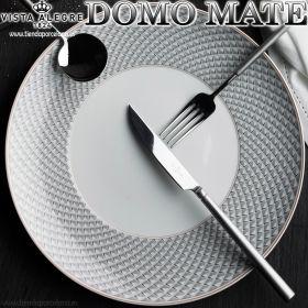 Cubertería Domo Matt 130 piezas Vista Alegre Domo mango Mate