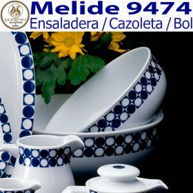 Ensaladera Individual 20cm Ø Melide 9474 Porcelanas Pontesa
