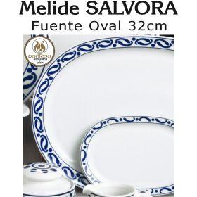 Fuente Oval Mediana 32cm Melide SALVORA Pontesa / Santa Clara