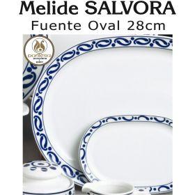 Fuente Oval Mediana 28cm Melide SALVORA Pontesa / Santa Clara