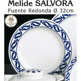 Fuente Redonda 32cm Ø Melide SALVORA Pontesa / Santa Clara
