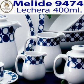 Lechera 400ml. Melide 9474 Porcelanas Pontesa