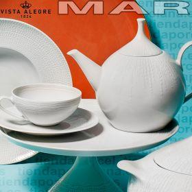 Detalle Juego Té 12 servicios (27 piezas) Vista Alegre colección MAR