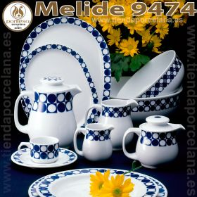 Melide 9474 Vajilla Porcelana Pontesa Santa Clara