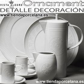 ORNAMENTE Detalle decoración Cafetera, Lechera y Tazas
