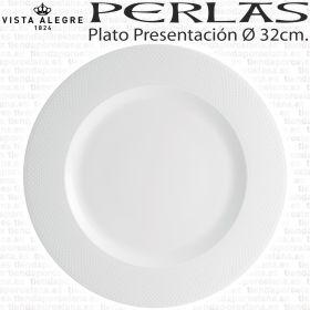 Plato Presentación Perla Vista Alegre Bajo Plato Ø 32cm. Hogar / Hostelería