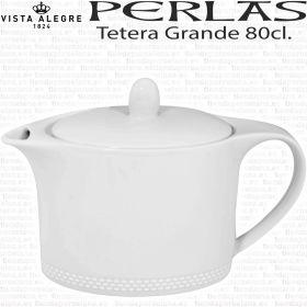 Tetera porcelana Grande 80cl. Perla Vista Alegre - Servicio Té