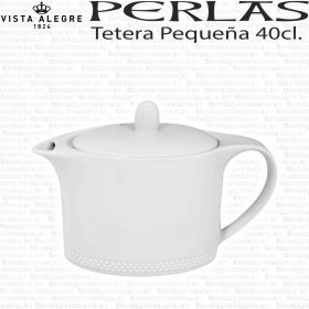 Tetera porcelana Mediana 40cl. Perla Vista Alegre - Servicio Té