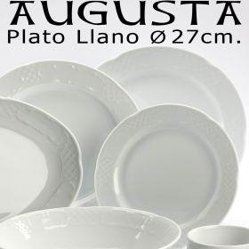 Plato Llano 27 cm. Ø Augusta Pontesa / Santa Clara