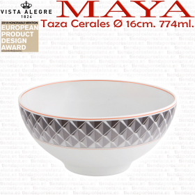 Taza Bol Cereales MAYA colección Vista Alegre porcelana