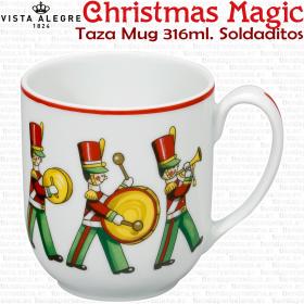 Set 6 Tazas Mug 316ml. Vista Alegre CHRISTMAS MAGIC