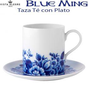 Taza Té con Plato Vista Alegre BLUE MING