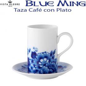 Taza Café con Plato Vista Alegre BLUE MING