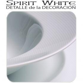Vista Alegre spirit White Blanco detalle de la decoración