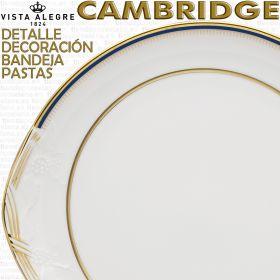 Bandeja de Pastas Cambridge Vista Alegre detalle decoración