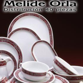 Vajilla 40 piezas Pontesa Santa Clara Melide Orla