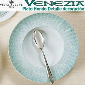 Plato Hondo Venezia Verde Vista Alegre