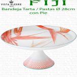Bandeja de Tarta - Pastas con pie Ø 33cm Vista Alegre FIJI