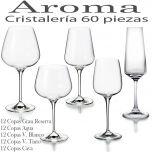 Cristalería 60 Copas (12 Copas Gran Reserva) Aroma Vista Alegre