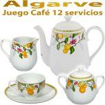 Jugo Cafe Vista Alegre Algarve 12 servicios 27 piezas