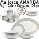 Vajilla + Café + Consomé 108 piezas Pontesa / Santa Clara Mallorca AMANDA