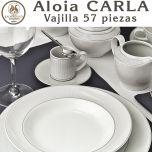 Vajilla 57 piezas Pontesa Santa Clara Aloia CARLA