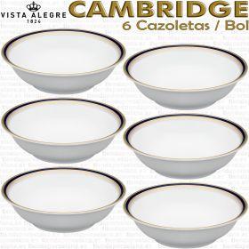 6 Cazoletas / Bol Vista Alegre CAMBRIDGE