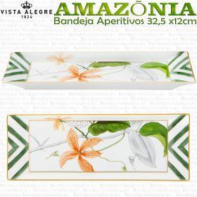 Bandeja Aperitivos 32,5 x 12cm Vista Alegre AMAZONIA