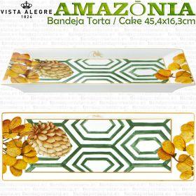 Bandeja de Torta Cake Tarta 45,4 x 16,3cm Vista Alegre AMAZONIA