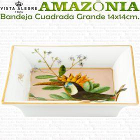 Bandeja Cascais Cuadrada Grande 14x14cm. Vista Alegre AMAZONIA