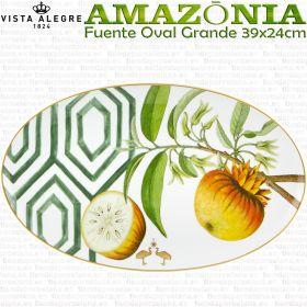 Fuente Oval Grande 39x24cm AMAZONIA Vista Alegre