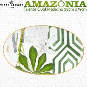 Fuente Oval Pequeña 29x18cm AMAZONIA Vista Alegre porcelana colección