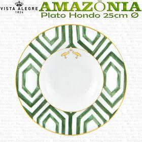 AMAZONIA Vista Alegre Platos Hondo 25cm piezas vajilla