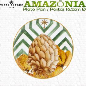 AMAZONIA Plato de Pan / Pastas 16,2cm Vista Alegre colección