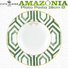PLATO PASTA 28cm Ø Vista Alegre porcelana AMAZONIA