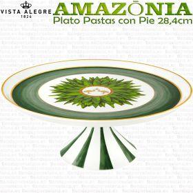 Plato de Pastas con Pie Grande Vista Alegre AMAZONIA
