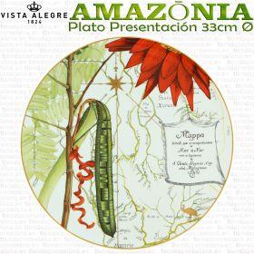 AMAZONIA Vista Alegre Bajo Platos Presentación 33cm