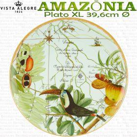 AMAZONIA Plato XL 39cm vajilla porcelana Vista Alegre