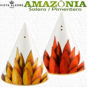 AMAZONIA Set Salero Pimentero Vista Alegre piezas sueltas vajilla